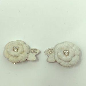 Chanel Camellia Earrings!